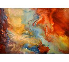 Liquid abstract Photographic Print