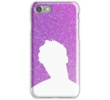Darren Criss Hedwig and The Angry Inch Silhouette in Purple iPhone Case/Skin