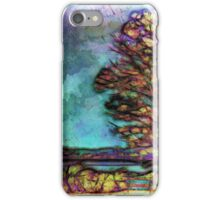 Tree in the park iPhone Case/Skin