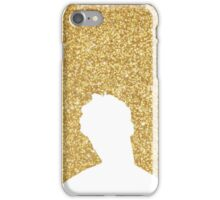 Darren Criss Hedwig and The Angry Inch Silhouette in Gold iPhone Case/Skin