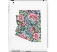 Floral Arizona State iPad Case/Skin