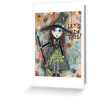 ADVENTURE WITCH Greeting Card