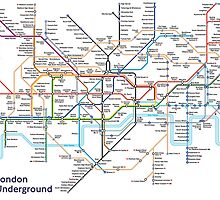 London Underground MAP by tabaslimo