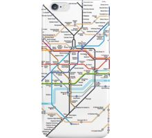 London Underground MAP iPhone Case/Skin