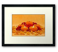 """Then We Had Pumpkin Pie"" Framed Print"