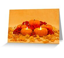 """Then We Had Pumpkin Pie"" Greeting Card"
