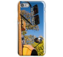 Yellow Bus/School Bus iPhone Case/Skin