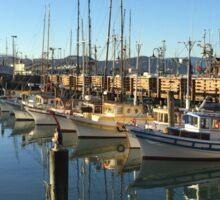 Docks at San Francisco  Sticker