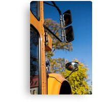 Yellow Bus/School Bus Canvas Print