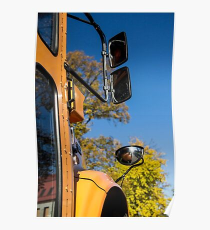 Yellow Bus/School Bus Poster