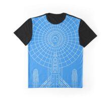 Star Trek - Faux Enterprise Blueprint Graphic T-Shirt