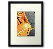 Ball Game Afternoon Framed Print
