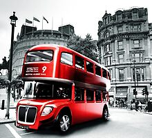 London Bus by tabaslimo