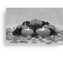Pumpkin Pie To Follow Canvas Print