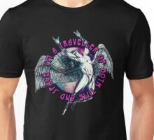 ICARUS THROWS THE HORNS - space traveller Unisex T-Shirt