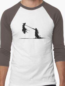 Cloud and Sephiroth Men's Baseball ¾ T-Shirt