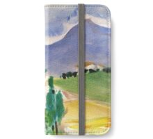 Tuscany landscape iPhone Wallet/Case/Skin