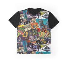 Sci Fi Retro Graphic T-Shirt