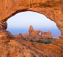Turret Arch through the North Window Arch by Kenneth Keifer