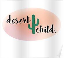 desert child. Poster
