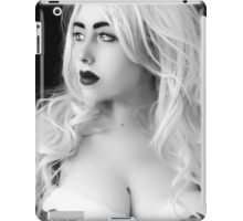 Hunting you, I can smell you - alive... Your heart pounding in my head. iPad Case/Skin
