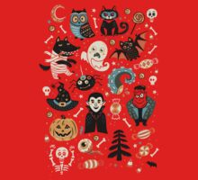 Happy Halloween One Piece - Short Sleeve
