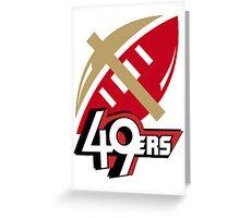 SF 49ers Greeting Card
