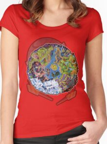 Island Of Angels Women's Fitted Scoop T-Shirt