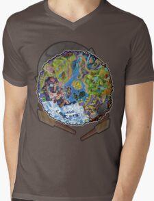 Island Of Angels Mens V-Neck T-Shirt