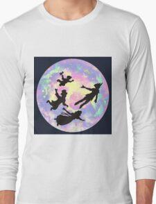 Never Grow Up Peter Pan Neverland Long Sleeve T-Shirt