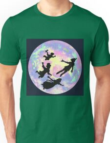 Never Grow Up Peter Pan Neverland Unisex T-Shirt