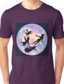 Never Grow Up Peter Pan Neverland Unisex T-Shirt