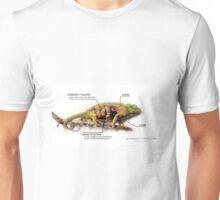 Jackson's Chameleon Anatomy with Labels Unisex T-Shirt
