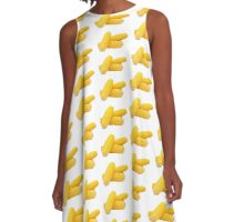 Corn In Corn Out A-Line Dress