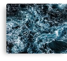 Dark Tempest Ocean Canvas Print