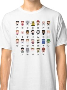 Doctor Who Alphabet Classic T-Shirt