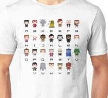 Doctor Who Alphabet Unisex T-Shirt