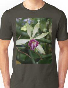 Tropical Flowers Orchid Unisex T-Shirt