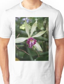Tropical Flowers Orchid Unisex T-Shirt
