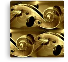 The Golden Violine Canvas Print