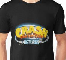 Crash Bandicoot Returns  Unisex T-Shirt