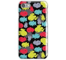 Abstract monsters. iPhone Case/Skin