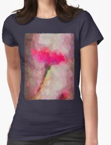 Pink Dandelion 2 Womens Fitted T-Shirt