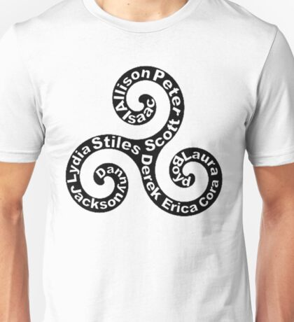 Triskellion - Names Unisex T-Shirt