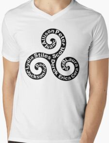 Triskellion - Names Mens V-Neck T-Shirt