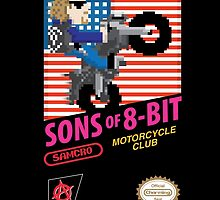Sons of 8 Bit - SoA mashup NES design by RetroReview
