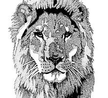 Animal Prints - Proud Lion - By Sharon Cummings by Sharon Cummings
