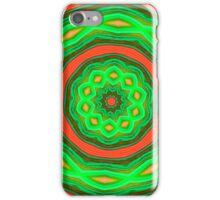 Orange and Green Circles iPhone Case/Skin