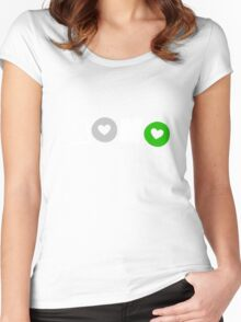 Mono Andro (Androphilia) Women's Fitted Scoop T-Shirt
