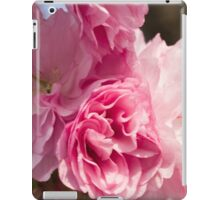 pink flowers on the trees iPad Case/Skin